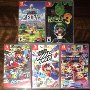Nintendo Switch Games for Sale in Chandler, AZ