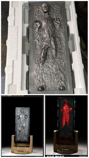 Sideshow Star Wars Han Solo in Carbonite Premium Format Statue Hot Toys for Sale in South El Monte, CA
