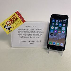 iPhone 8 64GB T-Mobile/MetroPCS for Sale in Kansas City, MO