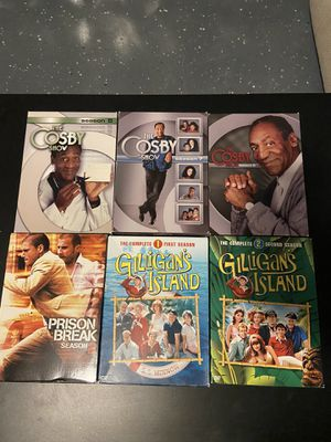 DVD TV Seasons for Sale. The Cosby Show, Prison Break and Gilligan's Island for Sale. Message for prices for Sale in Corona, CA