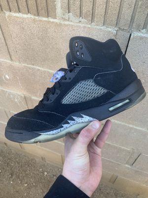 Jordan Black Metallic 5's for Sale in Palmdale, CA