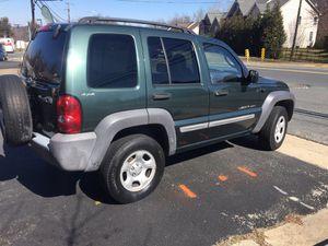 2002 Jeep Liberty for Sale in Alexandria, VA