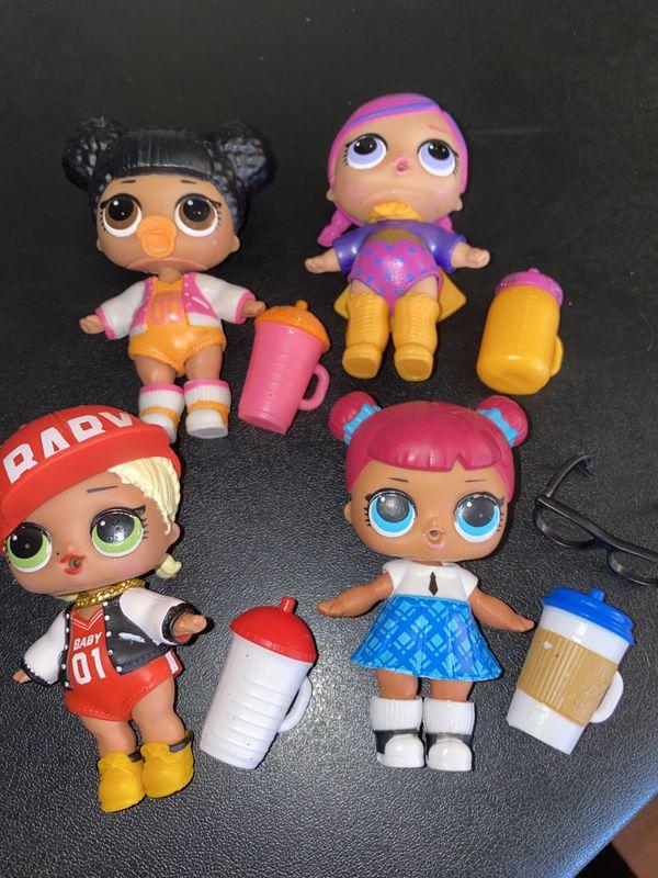Lol series 1 dolls lot of 4!