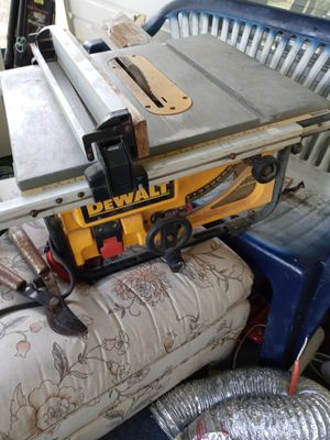 DEWALT portable table saw for Sale in Port Richey, FL