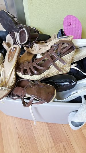 Wedges, high heels, boots for Sale in Vallejo, CA