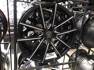 """24"""" Lexani black and milled wheels rims tires 5x120 for Sale in Cicero, IL"""