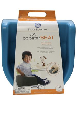 Prince Lionheart Soft Booster Seat Charcoal Grey for Sale in Naperville, IL