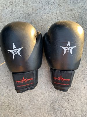 Final round fight gear boxing gloves for Sale in Avocado Heights, CA