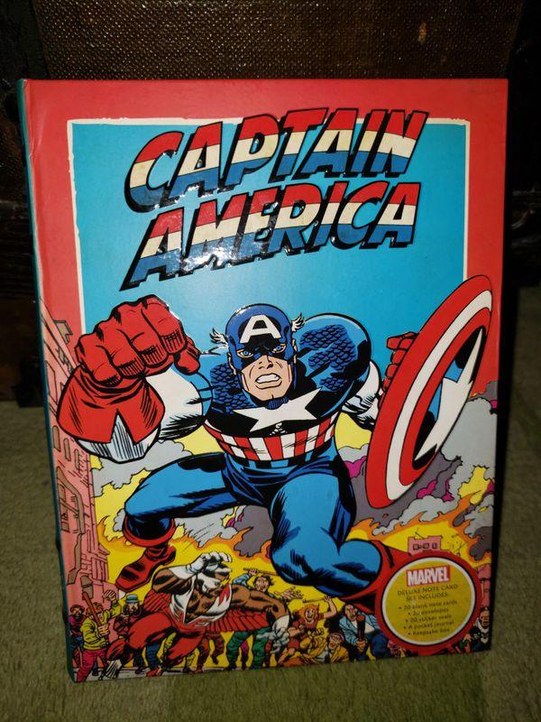 Marvel Captain America Deluxe Set