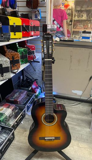 Acoustic electric nylon string guitar for Sale in Anaheim, CA