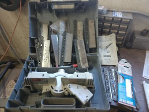 Bosch flush cut saw miter table for Sale in Exeter, ME