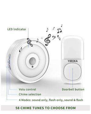Brand New Wireless Doorbell. No batteries needed!(pick up only) for Sale in Alexandria, VA