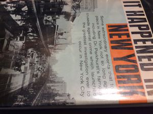First edition hc 1957 It Happened In New York Author Werner for Sale in Ridgeway, WI