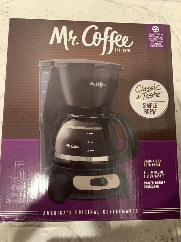 Coffee maker new