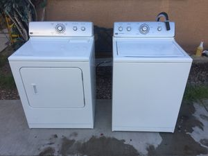 Washer and dryer Maytag Centennial Gas for Sale in Las Vegas, NV