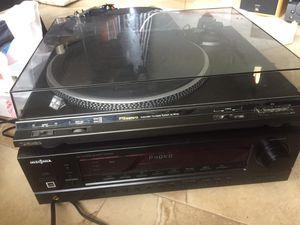 Technics turntable w/ortofon Needle & Receiver w/Remote for Sale in Miami, FL