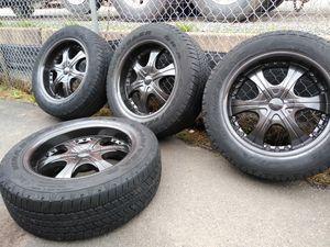 20 rims 6 lugs toyotas Nissan Chevy for Sale in Manassas, VA