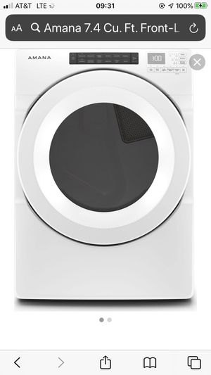 Brand new electric Amana dryer for Sale in Wichita Falls, TX