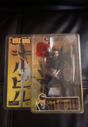 Neca Kill Bill Crazy 88 Director Quentin Tarantino Figure for Sale in Gilbert, AZ