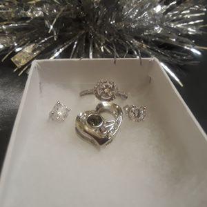 Silver .925 Jewelry Gift Set for Sale in Oak Lawn, IL