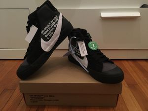 "Off-White x Nike Blazers Mid ""Grim Reapers"" Size 7 for Sale in San Francisco, CA"
