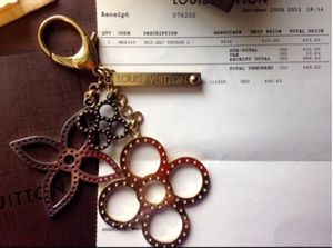 NEW Louis Vuitton tappage keychain charm with receipt & dust bag for Sale in Las Vegas, NV