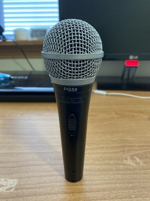 Shure PG58 mic for Sale in Portland, OR