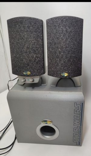 Rare working Klipsch star wars computer speakers subwoofer promedia thx for Sale in Las Vegas, NV