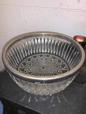 Beautiful pressed glass bowl for Sale in San Diego, CA