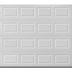 8x7 or 9x7 garage door with installation for Sale in Pittsford, NY