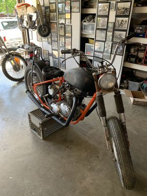 1965 Triumph 650 rigid frame project bike for Sale in Gilroy, CA