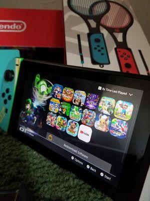Nintendo Switch ultimate bundle 15 games etc for Sale in Santa Ana, CA