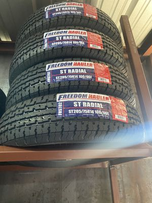 St205/75/14 TRAILER TIRES for Sale in Arlington, TX