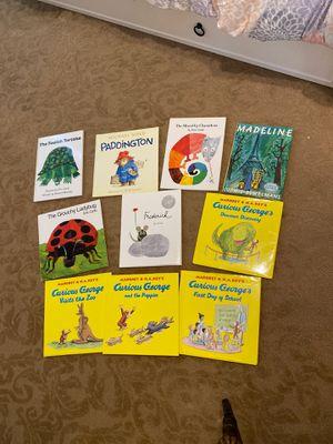 Set of 10 hardback kids books for Sale in Rancho Cucamonga, CA