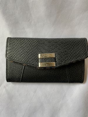 Jessica Simpson black leopard print wallet for Sale in Lynnwood, WA