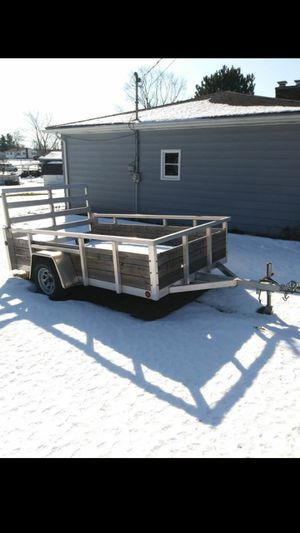 12 ft aluminum trailer drop ramp for Sale in Battle Creek, MI
