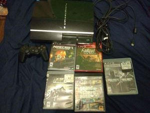 Ps3/ 5games for Sale in San Antonio, TX