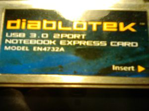 USB 3.0 two port Notebook express card for Sale in North Las Vegas, NV