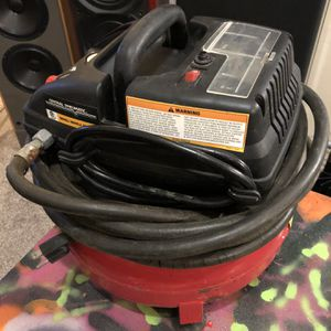 Central Pneumatic Pancake Air Compressor Model 95275 for Sale in Puyallup, WA