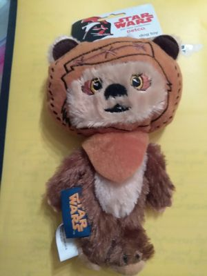 Rare Star Wars Ewok Dog Plush Toy with Squeeker for Sale in Chicago, IL