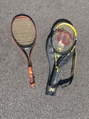Pair of Tennis Rackets for Sale in Glen Mills, PA