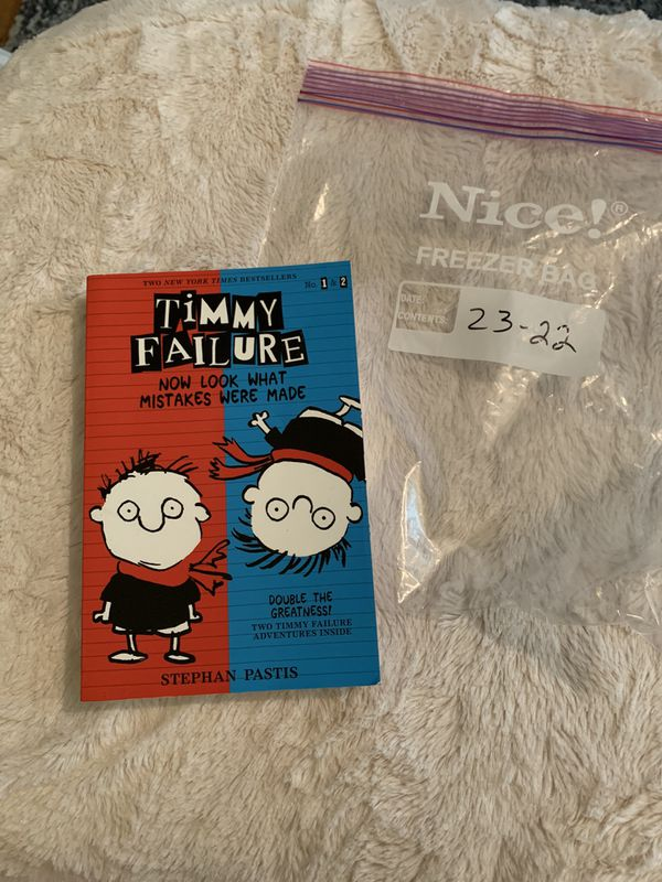 B2322 Timmy Failure Now Look What Mistakes Where Made #txbunny age 8-12 book