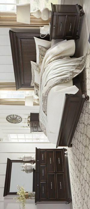 🧿SAMEDAY DELIVERY 🧿SPECIAL] Brynhurst Dark Brown Panel Bedroom Set for Sale in Jessup, MD