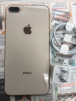 Factory Unlocked Apple iPhone 8 plus , Sold with warranty for Sale in Cambridge, MA