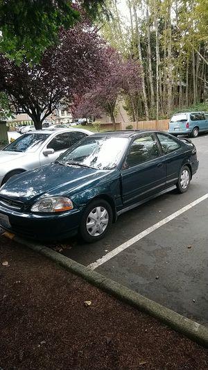 Honda civic Ex 1997 for Sale in Lynnwood, WA