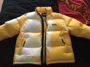 Felt Yellow Duck Down Bubble Jacket for Sale in Gainesville, VA