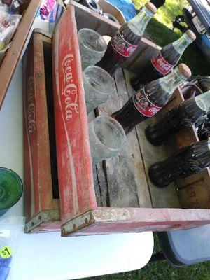 Coca Cola Vintage Unopen 8oz Bottles for Sale in Indianapolis, IN