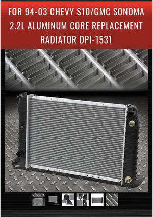 Radiator for s10 or sonoma GM 70$ or best offer for Sale in Stockton, CA