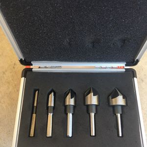 5 PCS INDUSTRIAL COUNTERSINK SET for Sale in Newark, CA
