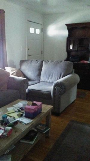 Couch and loveseat, coffee table , end table. Less than a year old for Sale in Everett, MA